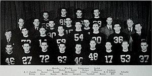 1937 Illinois Fighting Illini football team - Image: 1937 Illinois Fighting Illini football team