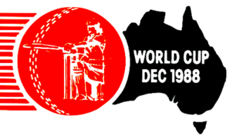 1988 Women's Cricket World Cup - Image: 1988 Women's Cricket World Cup logo
