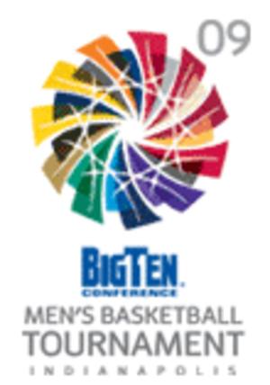 2009 Big Ten Conference Men's Basketball Tournament - 2009 Tournament logo