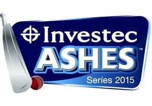2015 Ashes series - The Investec Ashes Series 2015 logo