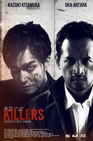 Killers (2014 film) - Killers movie poster on 2014 Sundance Film Festival