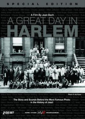 A Great Day in Harlem (film) - DVD Cover