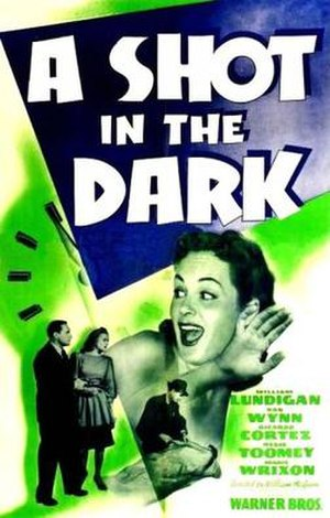 A Shot in the Dark (1941 film) - Theatrical release poster