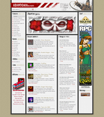 A screenshot of the main page.