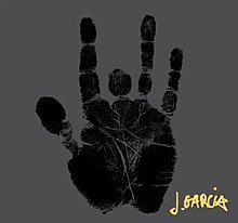 Jerry Garcia's hand print and signature