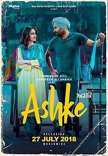 <i>Ashke</i> 2018 Punjabi-language film