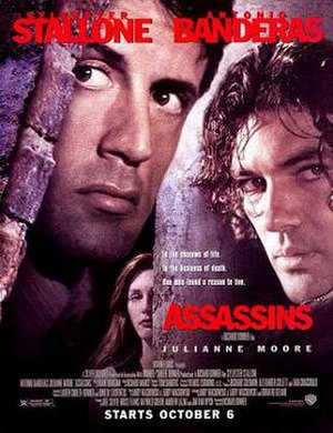 Assassins (film) - Theatrical release poster