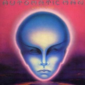 Automatic Man - The Visitors Album Cover