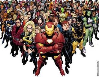 Avengers: The Initiative - Image: Avengers Initiavive number 1