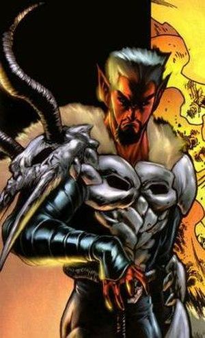 Azazel (Marvel Comics) - Image: Azazel HCV
