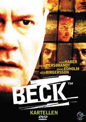 Beck – Kartellen - Swedish DVD-cover