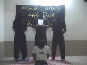 Tanzim Qaidat al-Jihad fi Bilad al-Rafidayn - Shosei Koda before his beheading