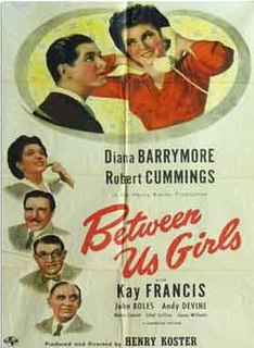 <i>Between Us Girls</i> 1942 film by Henry Koster