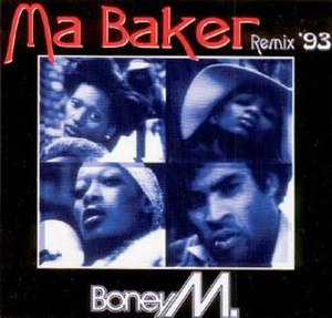 Ma Baker - Image: Boney M. Ma Baker (Remix '93 (1993 single)