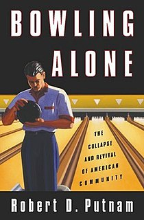<i>Bowling Alone</i> Book by Robert Putnam