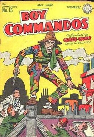 Crazy Quilt - Image: Boy Commandos 15
