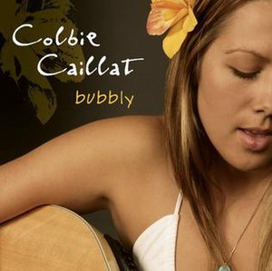 Bubbly - Image: Bubbly (Colbie Caillat)