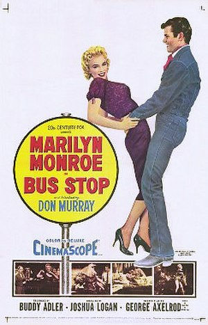 Bus Stop (1956 film) - film poster by Tom Chantrell