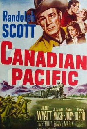 Canadian Pacific (film) - Image: Canadian Pacific Film Poster