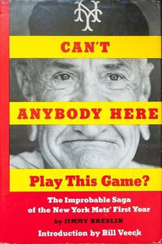 Can't Anybody Here Play This Game? - First edition