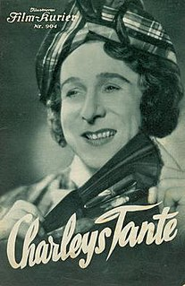 <i>Charleys Aunt</i> (1934 film) 1934 film