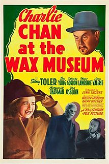 <i>Charlie Chan at the Wax Museum</i> 1940 American film