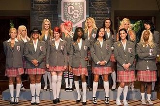 Rock of Love: Charm School - Cast of Rock of Love: Charm School (left to right):