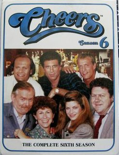 <i>Cheers</i> (season 6) season of television series