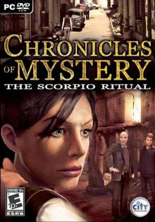 chronicles of mystery le rituel du scorpion