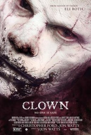 Clown (film) - Theatrical release poster