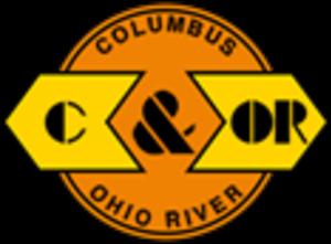 Columbus and Ohio River Railroad - Image: Columbus and Ohio River Railroad logo