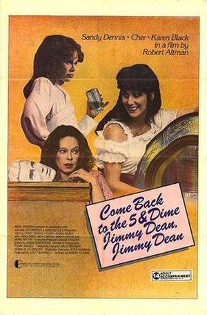 Come Back to the Five and Dime, Jimmy Dean, Jimmy Dean (film) - Original theatrical poster