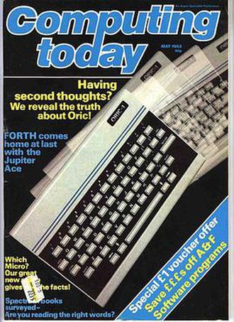 Computing Today - Cover of Computing Today from May 1983