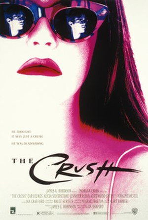 The Crush (1993 film) - Promotional film poster