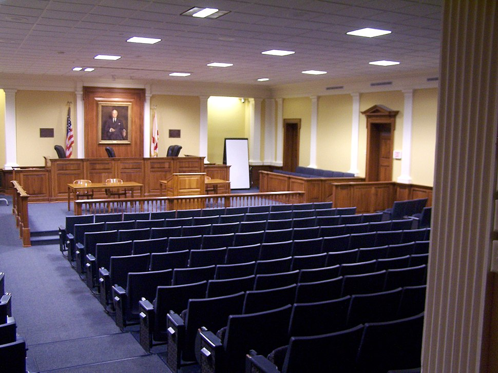 Cumberland School of Law Moot Court Room Cordell Hull