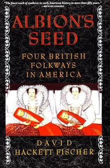 Image result for Albion's Seed: Four British Folkways in America, Oxford