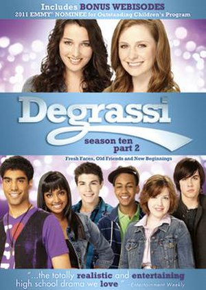 Degrassi (season 10) - Degrassi season 10 Part 2 DVD