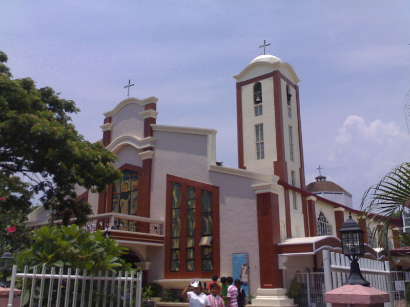 File:Diocesan shrine of san vicente ferrer mamatid.jpg