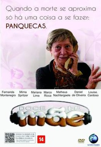 Doce de Mãe - Cover of the DVD release