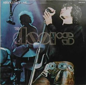 Absolutely Live (The Doors album) - Image: Doors Ab Live 1970