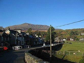 Dolwyddelan - Image: Dowyddelan Wales
