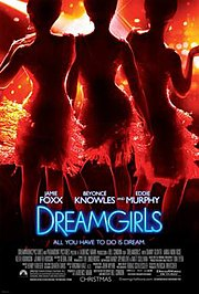 Poster for the film Dreamgirls, in which Beyonc stars as Deena Jones