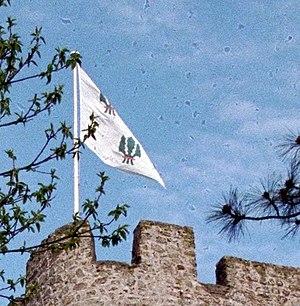 Drum Castle - Chieftain's Banner