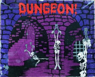 Dungeon! - Original 1975 box cover