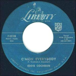 C'mon Everybody - Image: Eddie Cochran Cmon Everybody Liberty F 55166