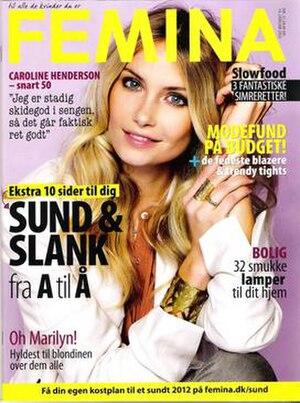 Femina (Denmark) - Image: Femina 19 January 2012