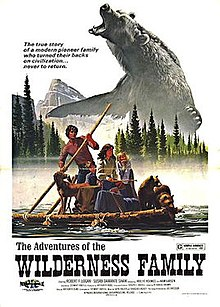 Film Poster for the 1975 film The Adventures of the Wilderness Family.jpg