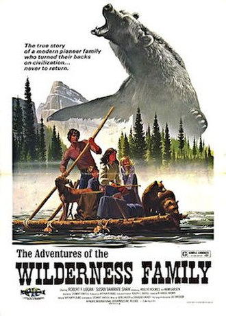 The Adventures of the Wilderness Family - Theatrical release poster