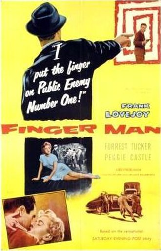 Finger Man - Theatrical release poster