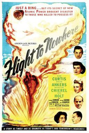 Flight to Nowhere - Film poster